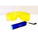 UV-kit para la detección de fugas