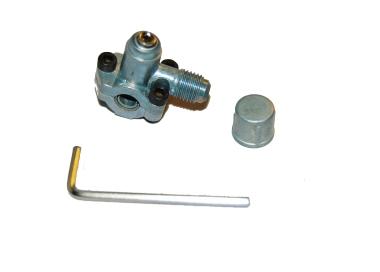 La perforación de la válvula