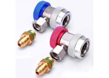 Quick couplers R134A Low+High