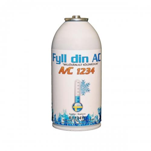 A/C: 1234 - Ersättningsgas for din aircondition